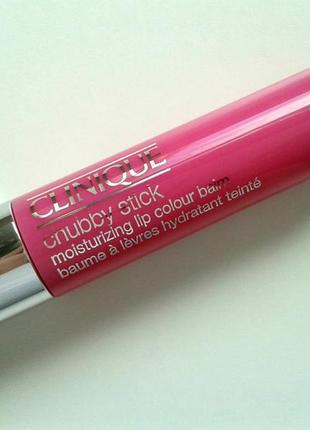 Бальзам для губ - clinique chubby stick moisturizing lip colour balm