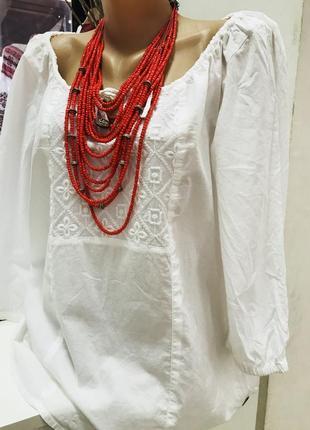 Вышиванка хлопок блуза с вышивкой хлопок вишиванка сток