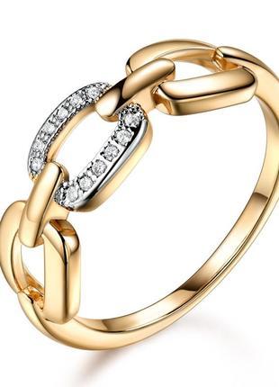 Кольцо с цирконием цепь переплёты
