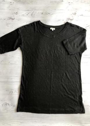 Крутая футболка с удлиненным рукавом 100% лён river island