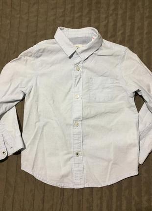Рубашка zara для мальчика