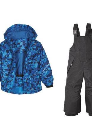 Комплект зимний мембрана, куртка и полукомбинезон, 86-92, 98-104, германия