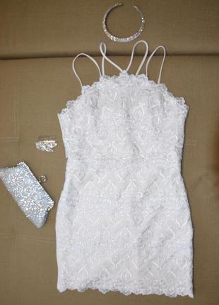 Шикарное платье, вечернее, свадебное