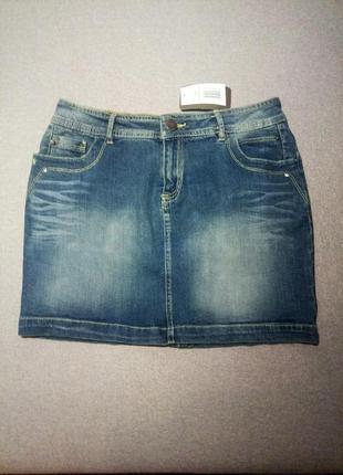 Джинсовая юбка mar collection