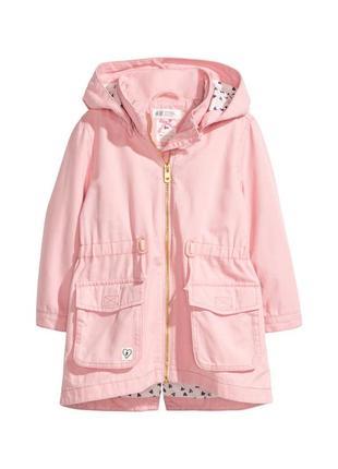 Стильна куртка парка для дівчаток від h&m (98,128)
