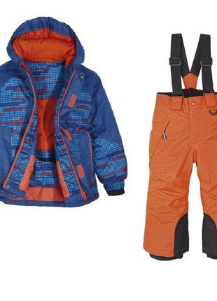 Комплект зимний мембрана, куртка и полукомбинезон, 86-92, германия