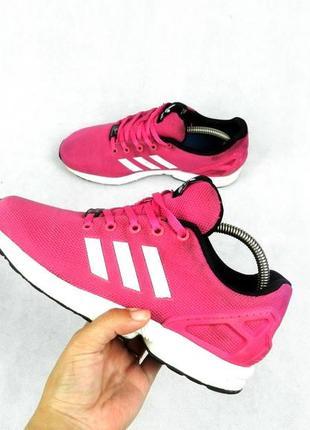 Кроссовки adidas flux женские розовые