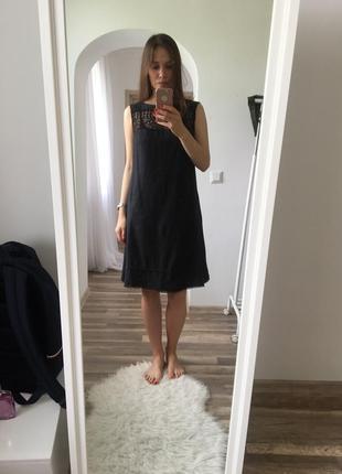 Сукня льон