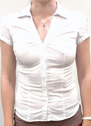 Рубашка белая pimkie