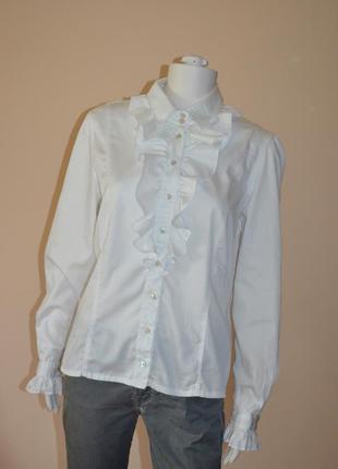 Рубашка van laack  перламутровые пуговицы