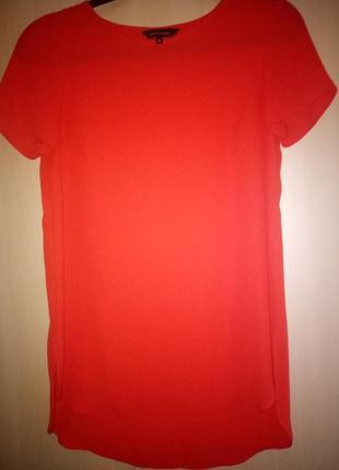 Топ блуза красная 8