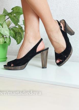 Босоножки туфли на каблуке, бренд graceland