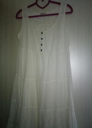 Платье сарафан шитье вискоза