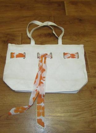 Новая тканевая сумка италия