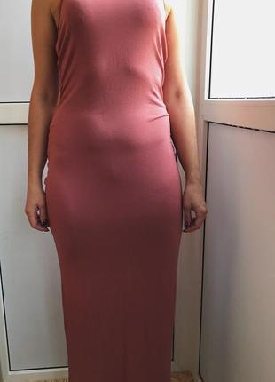 Красивое, длинное платье atmosphere
