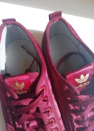 Атласные мокасины adidas3