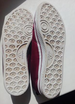 Атласные мокасины adidas4