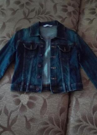 Джинсовый пиджак mini bleau