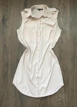 Распродажа! стильное шифоновое платье рубашка