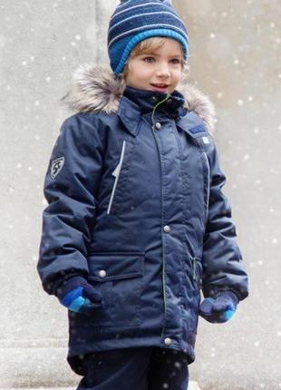 Зимняя куртка парка lenne 134 размер