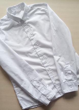 Классическая/белая/рубашка/h&m