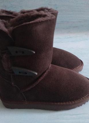 Угги aussie merino jill kids boot 31 р, полностью натуральные