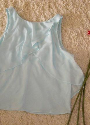 Эффектная блуза, майка zara