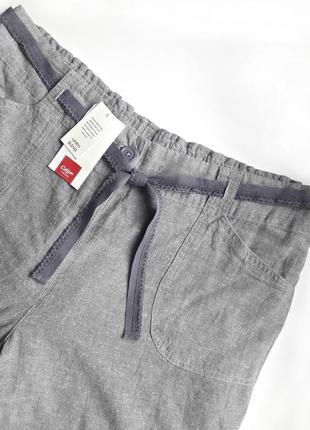 Красивые летние брюки, 55% лён
