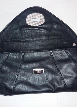 Клатч сумка из качественного кожзама