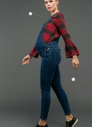 Комбинезон джинсовый для беременных gebe р 36 (s -m)