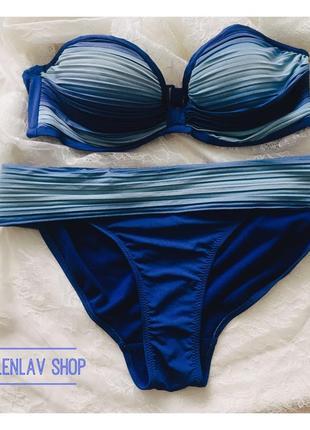 Новый купальник акция ! цвет приятного морского бриза