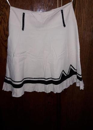 Классная летняя легкая хб юбка.