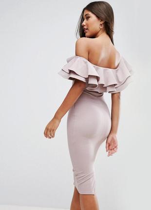 Роскошное облегающее платье asos