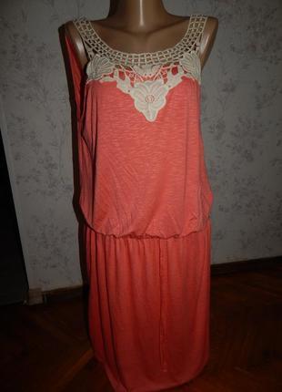 Платье р.16 стильное,модное  george