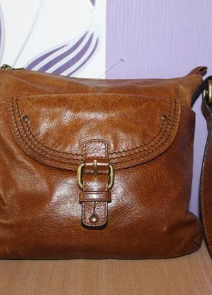Красивая кожаная сумка autograph marks & spencer индия