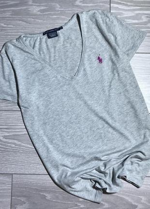 Серая футболка ralph lauren оригинал