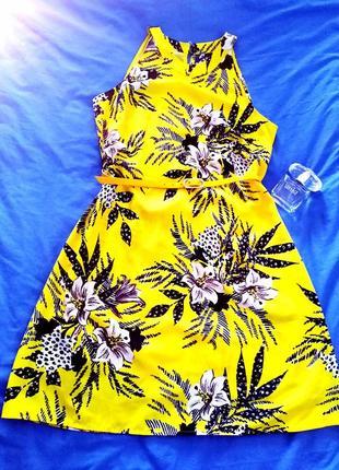 Шикарное летнее платье. новое