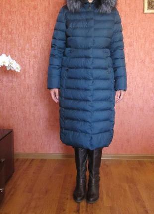 Пальто зимнее женское (наполнитель - холлофайбер)