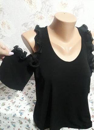 Открытые плечи блуза италия!