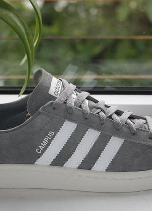 Кроссовки adidas campus trainers in grey (41р. по 46р.) оригинал!! -50%