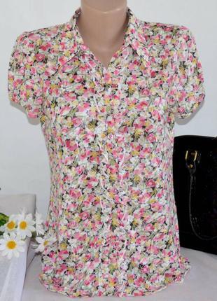 Брендовая блуза рубашка per una арабские эмираты коттон