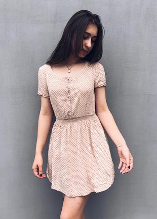 Чудове платтячко в горошок h&m