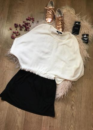 Платье объемное вверху и узкой юбкой снизу s asos