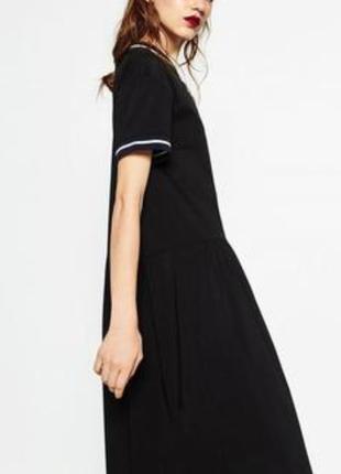 Нереальное платье миди zara