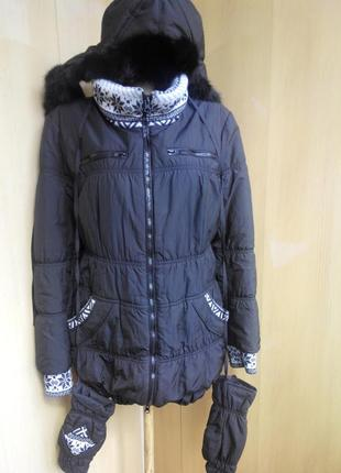 Курточка зима 46р