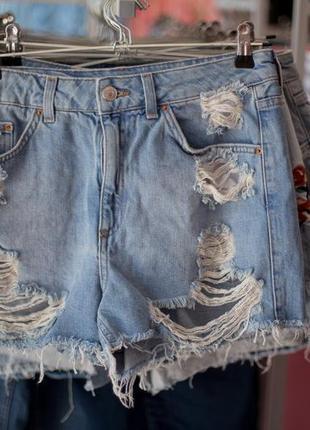 Большая распродажа!!! крутые турецкие джинсовые шорты раазмеры с,м