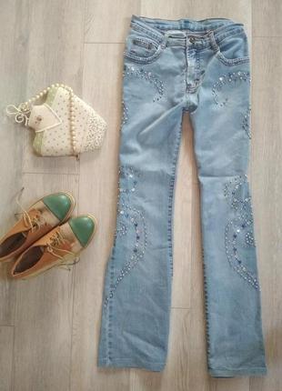 Джинси з перлинами / джинсы с жемчугом