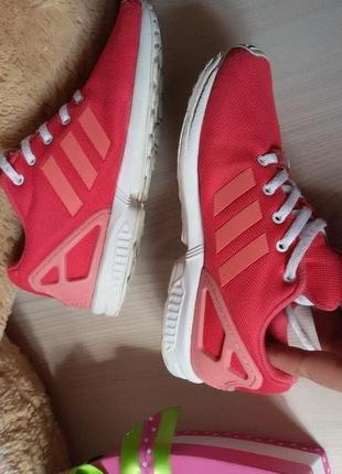 Кроссовки адидас 34 р. adidas zx flux kids 22 см.