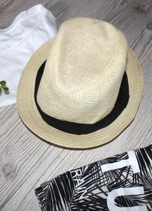 Шляпа h&m соломенная
