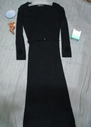 Шикарное платье по фигуре monton р.8-10